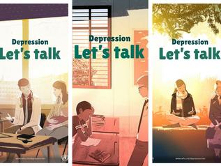 #DepressionLetsTalk