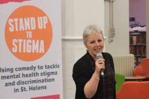 Maureen and her time on the Stand Up To Stigma programme...