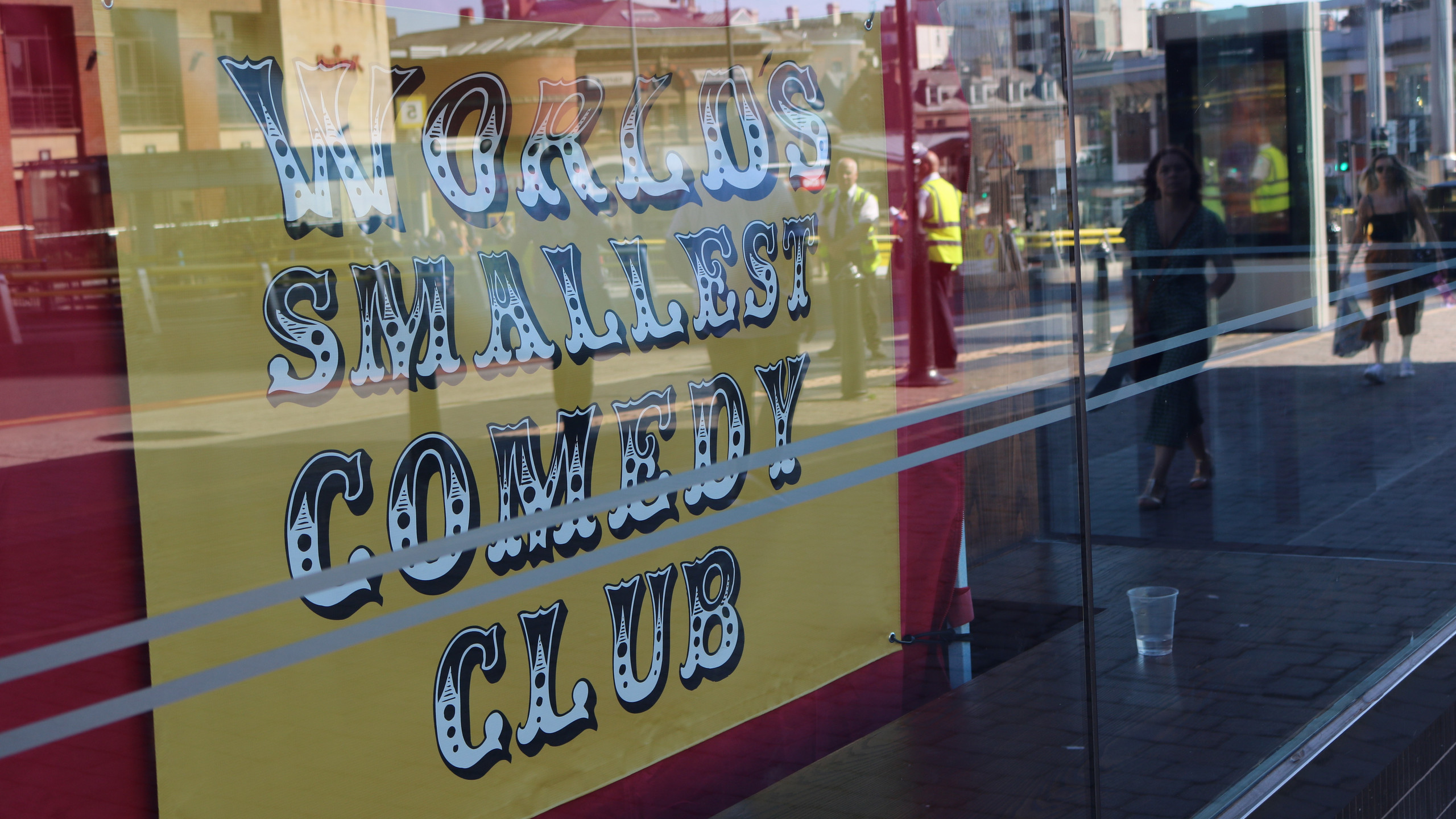 World's Smallest Comedy Club