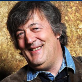 Stphen Fry Lives with the condition and uses his voice to spread awareness: Image: www.twitter.com/stephenfry
