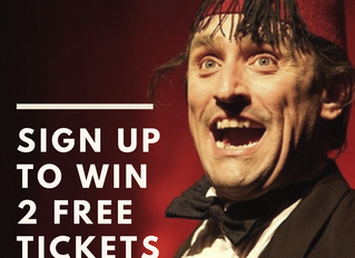 WIN: Be The Lucky Winner of Two FREE Comedy Tickets