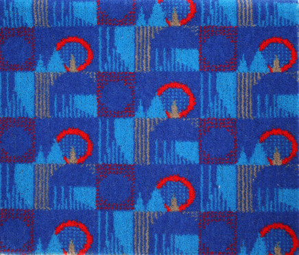 Wallace Sewell Central Line Moquette Design