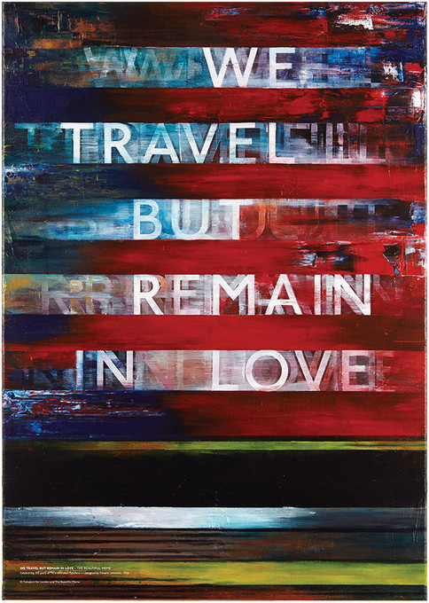 We Travel but Remain in Love by The Beautiful Meme