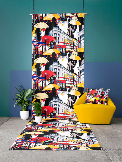 Vallila Printed Fabric Range