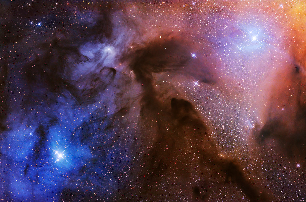 The Rho Ophiuchi Clouds © Artem Mironov Read