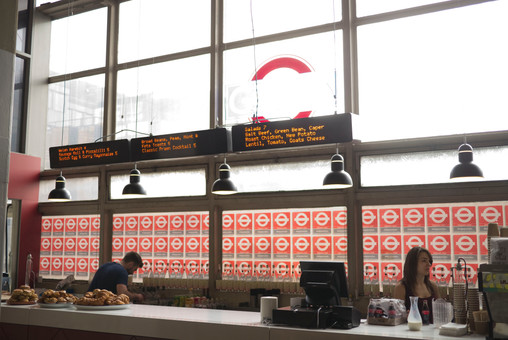 The Year of the Bus Restaurant at Designjunction