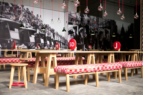The General Restaurant at Designjunction