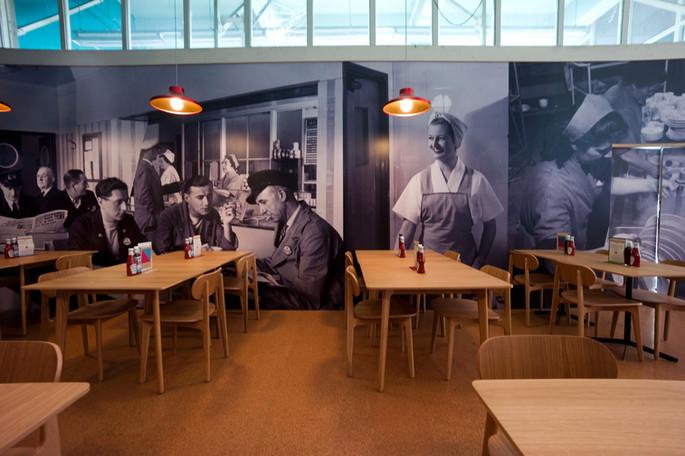 London Transport Canteen Restaurant