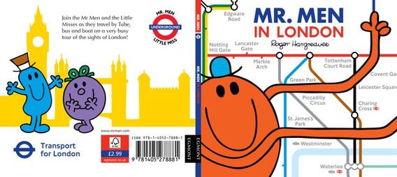 Mr Men in London Book