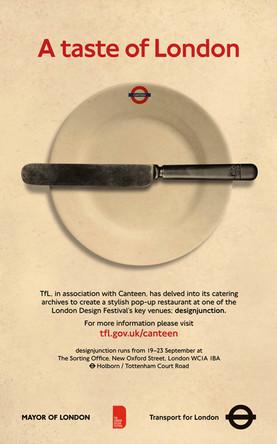 London Transport Canteen Poster