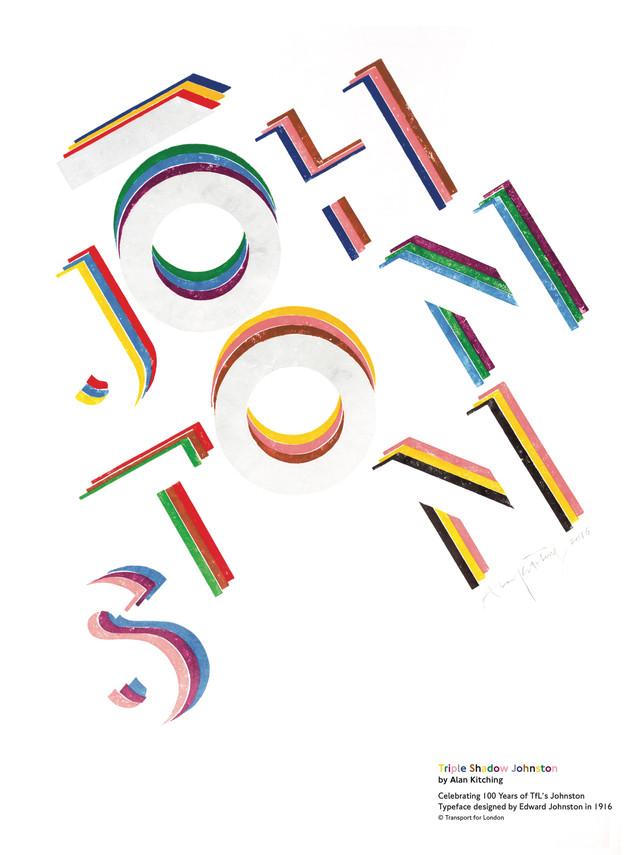 Triple Shadow Johnston by Alan Kitching