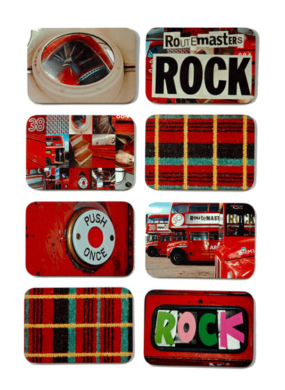 Ella Doran's Routemaster Rocks Designs