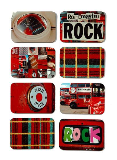 Ella Doran's Routemaster Rocks Designs