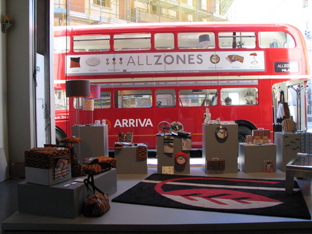 All Zones Routemaster Bus at Zona Tortona Milan
