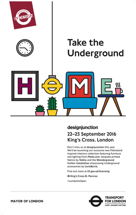 Take the Underground Home Poster