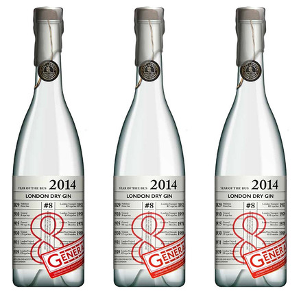 Limited-Edition London Dry Gin for Year of the Bus