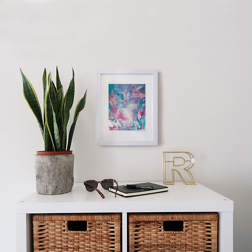 Heavenly print (8x10 print 11x14 frame)