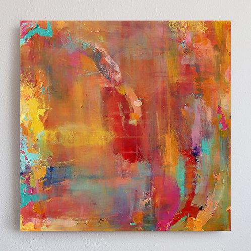 Impressionism, Sunset (20x20)