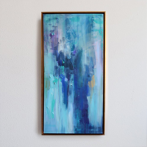 Cascading Blue (48x24)