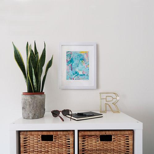 Cotton Candy print (8x10 print 11x14 frame)
