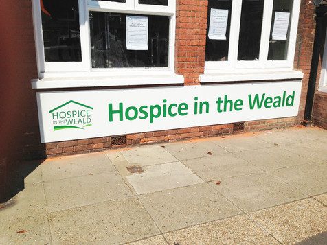 Hospice Wall Sign