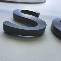 Built Up Metal Letters