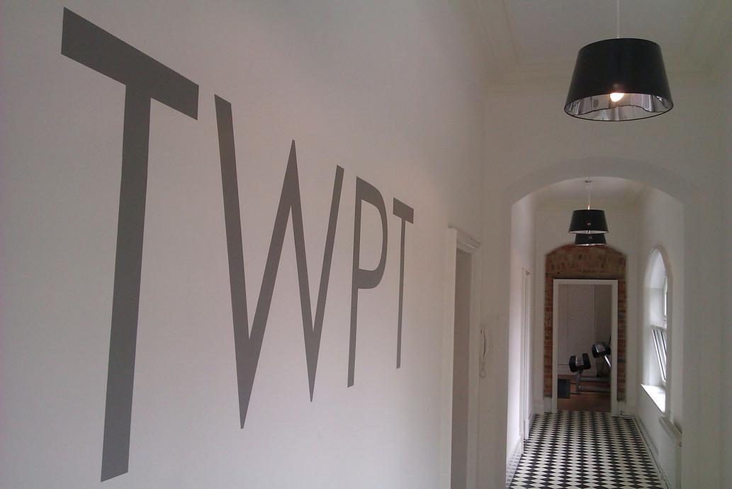 Cut Vinyl Wall Lettering