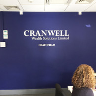Cranwell Office Wall Lettering