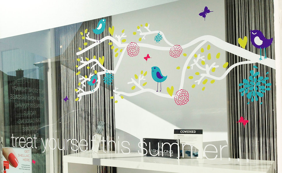 Window Display Stickers for Shops
