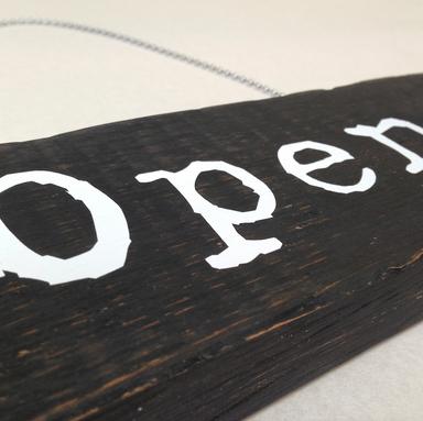 Open & Close Door Sign