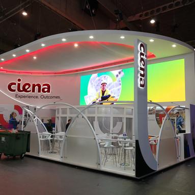 Ciena Exhibition Stand Graphics