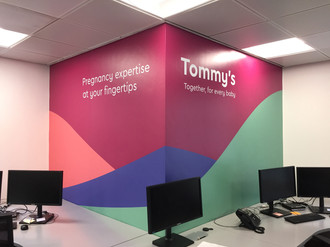 Office Wall Branding London