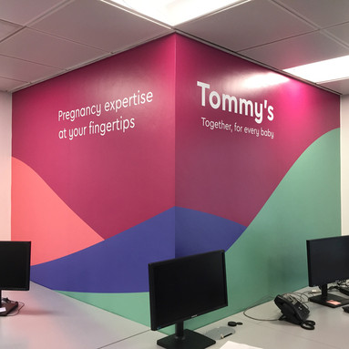 Office Wall Branding London