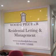 Office Wall Sign in Tunbridge Wells