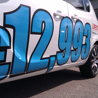 Car Sales Promotional Stickers