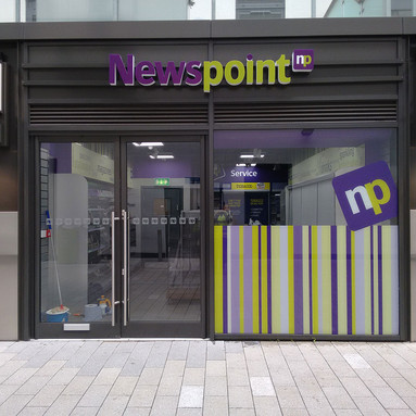 Newspoint 3D Lettering Shopfront Sign