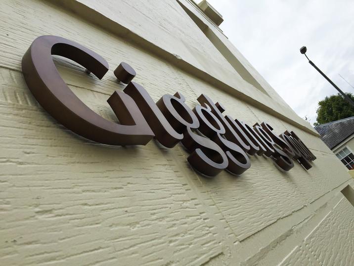 3D Restaurant Signage Lettering