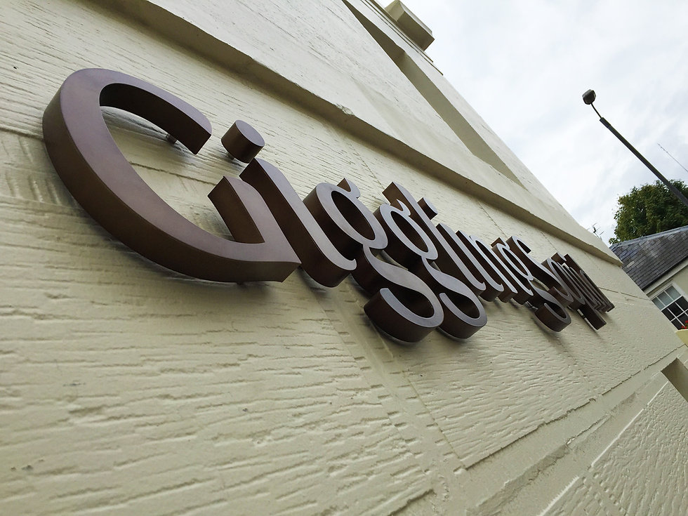 3D Lettering Restaurant and Shop Signage