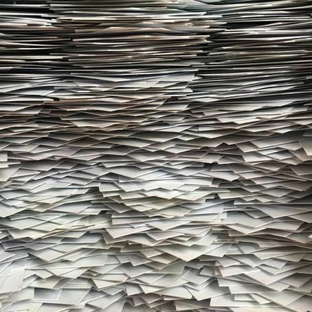 Gebruik sorteerbakjes voor je administratie