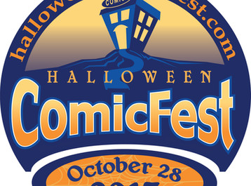 Halloween Comic Fest! October 28th!