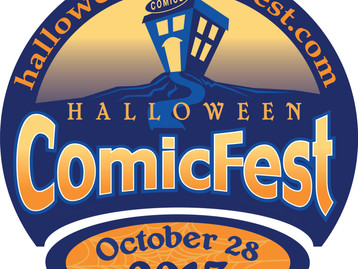 Halloween Comic Fest! October 28th!