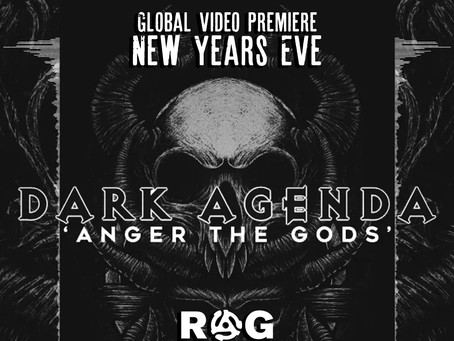"""Global Premier - """"Anger The Gods"""" by Dark Agenda"""