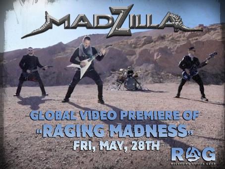 """Madzilla World Premier Of """"Raging Madness"""""""