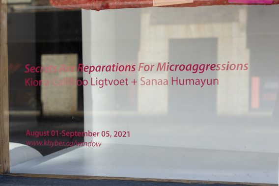 Secrets Are Reparations For Microagressions