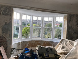 completed sash window repair work in Eastbourne
