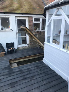 Composite decking Brighton and Hove