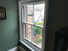 Wooden sash window repair st leonards