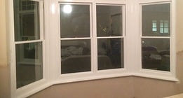 sash window completed restoration Bexhill