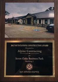 General Contractor Commercial San Antonio Alpine