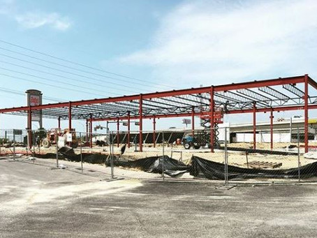 Steel Goes Up at The Shops at Forum Crossing Retail
